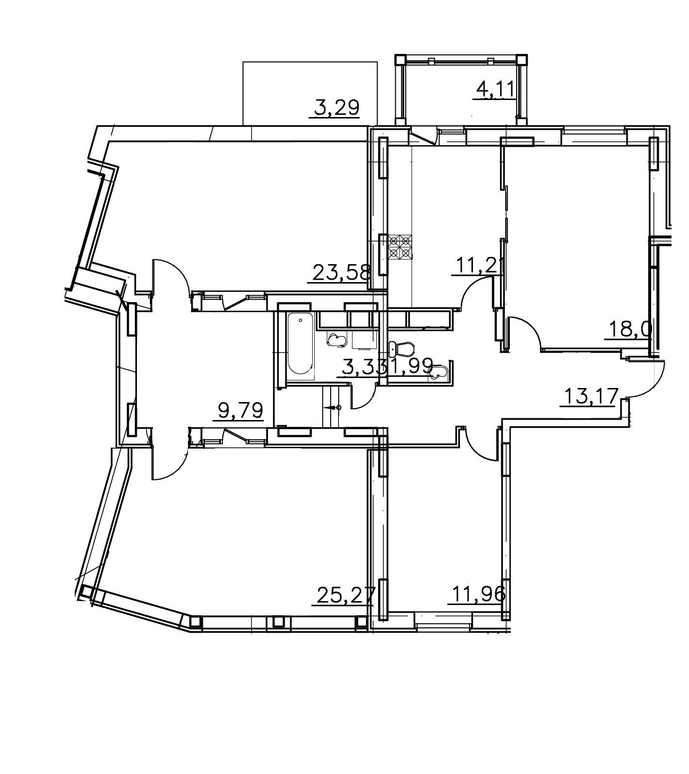 2-комнатная квартира в Митино О2, дом №14, квартира №14-023
