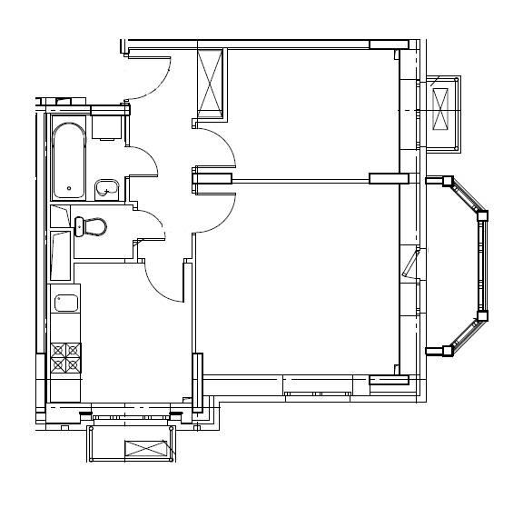 2-комнатная квартира в Митино О2, дом №8, квартира №08-001