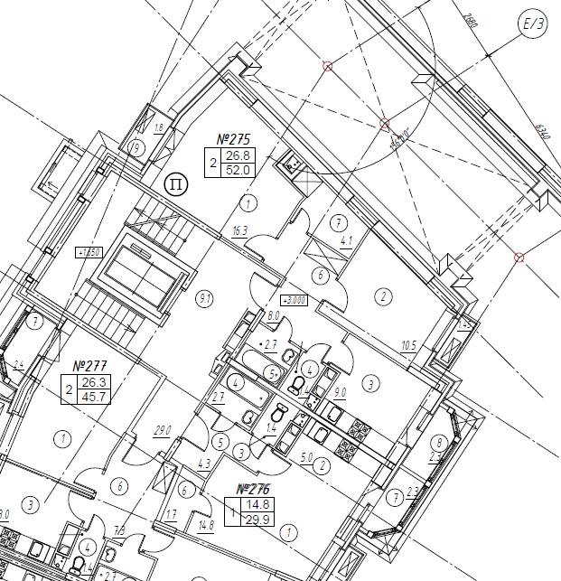 2-комнатная квартира в Митино О2, дом №8, квартира №08-275