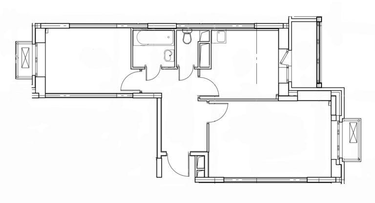 2-комнатная квартира в Митино О2, дом №8, квартира №08-347