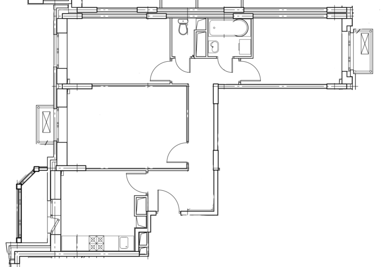 3-комнатная квартира в Митино О2, дом №8, квартира №08-051