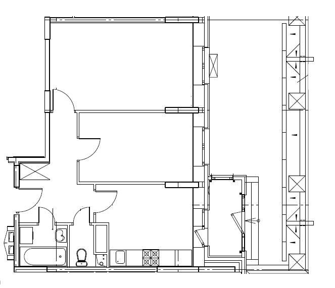 2-комнатная квартира в Митино О2, дом №8, квартира №08-064