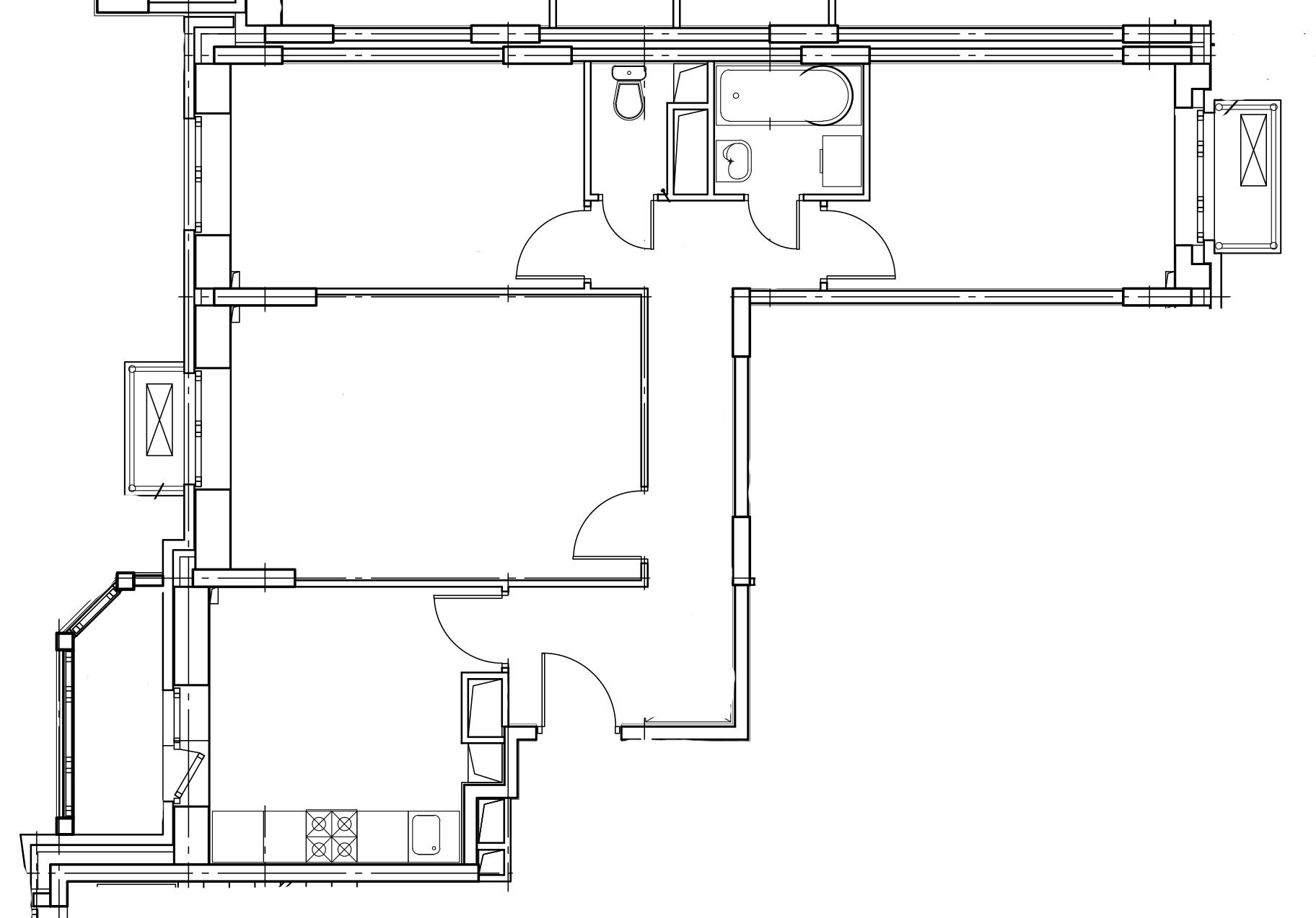 3-комнатная квартира в Митино О2, дом №8, квартира №08-067