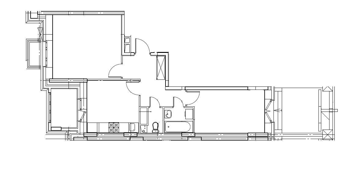 2-комнатная квартира в Митино О2, дом №8, квартира №08-099